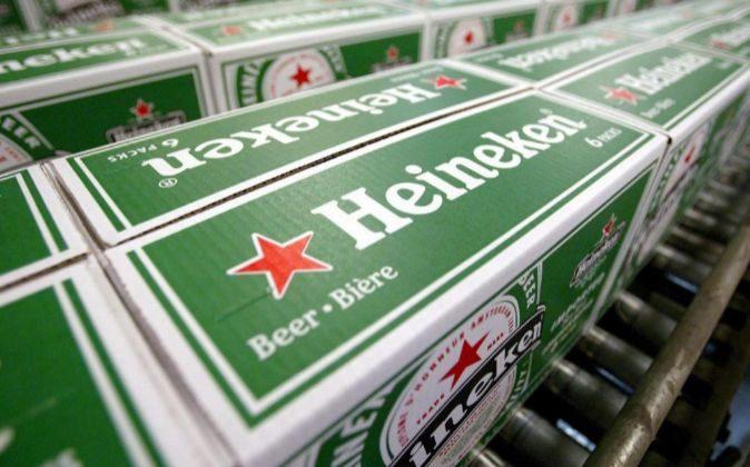 Fábrica de Heineken.