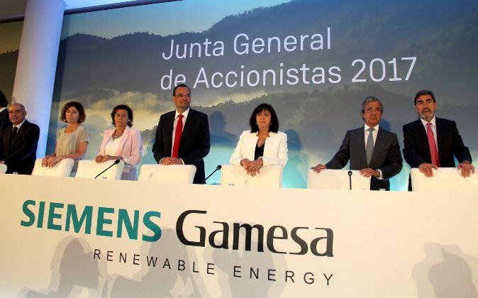 Junta de accionistas de Siemens Gamesa de 2017