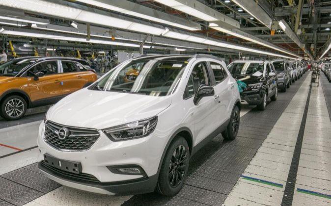 Planta de Opel en Figueruelas (Zaragoza).