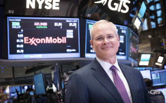 Darren Woods, presidente de ExxonMobil