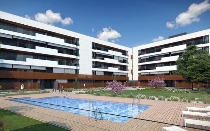 Imagen de la promoción Habitat El Juncal, en Alcobendas (Madrid).