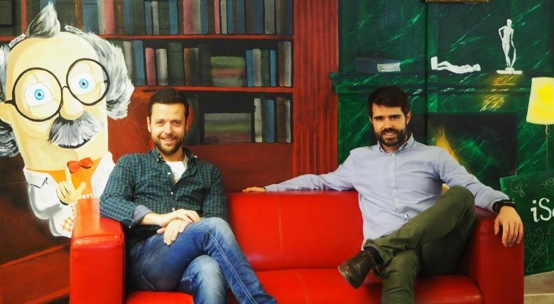Albert Castells y José López, fundadores de iSalud.