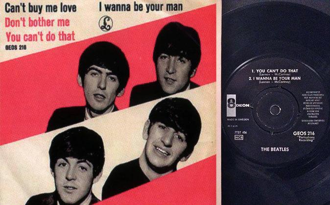 """La canción """"Can't Buy Me Love"""" de Los Beatles reconoce..."""