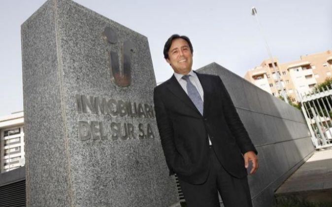 El presidente de Inmobiliaria del Sur, Ricardo Pumar.