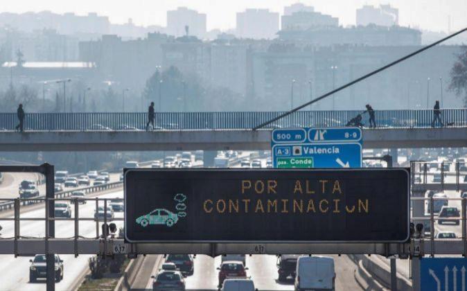 Accesos a la ciudad de Madrid.