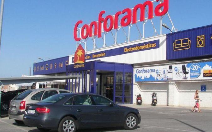 Tienda de Conforama.