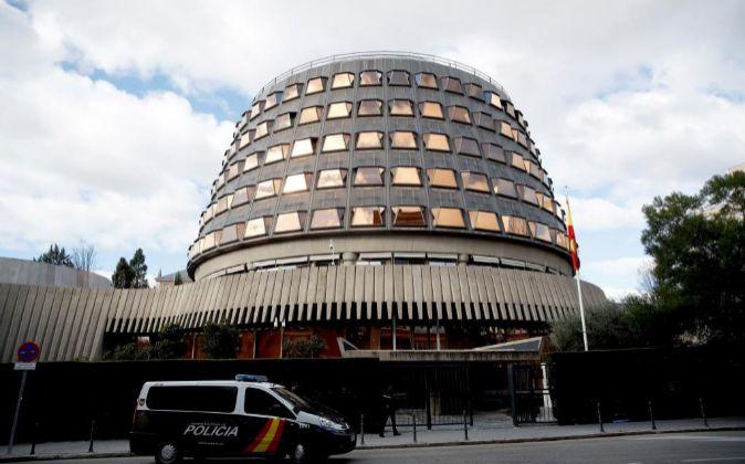 Imagen de la sede del Tribunal Constitucional (TC).