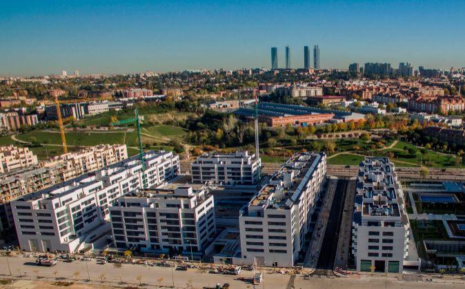 Pisos en la nueva zona residencial del norte de Madrid