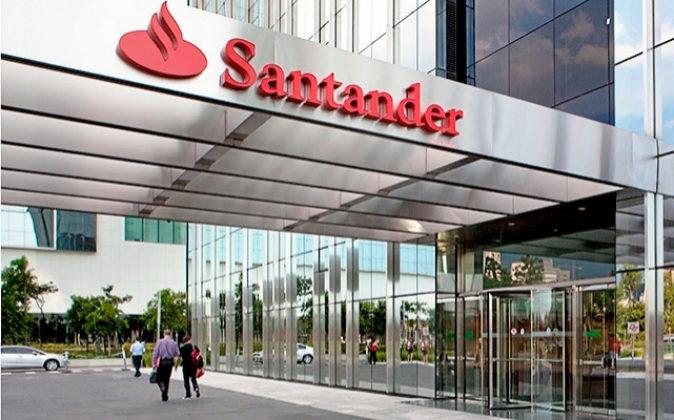 Sede de Banco Santander en Sao Paulo.