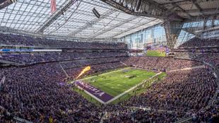 El US. Bank Stadium de Minneapolis donde se disputará la final de la...