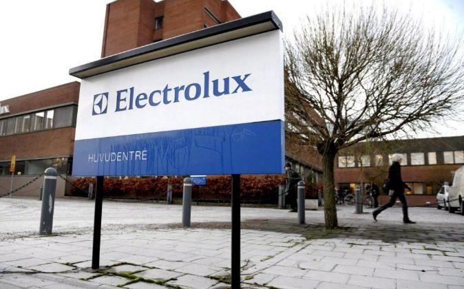 Oficinas de la compañía Elextrolux en Estocolmo (Suecia).