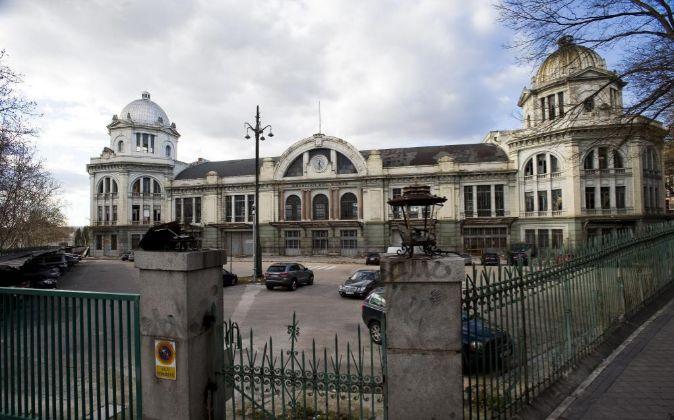 Estación del Norte, Príncipe Pío (Madrid).