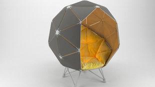 La silla creada por el estudio ucraniano de jóvenes diseñadores,...