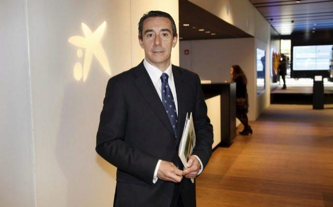 Juan Antonio Alcaraz, director general de Negocio de Caixabank.