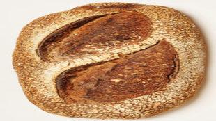 PAN DE PUEBLO. Ingredientes: 800 g de harina ecológica, 200 g de...