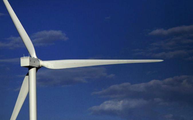 Imagen de instalaciones eólicas de Iberdrola