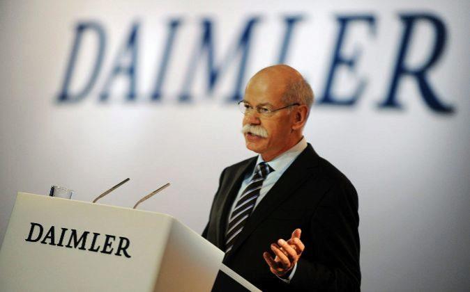 El presidente de Daimler AG, Dieter Zetsche.