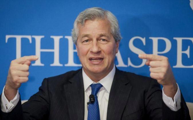 Jamie Dimon, consejero delegado de JPMorgan.