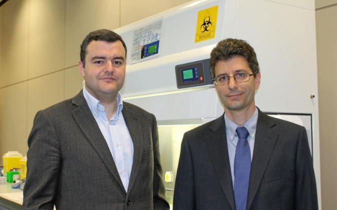 Los cofundadores de Stat-Dx, Jordi Carrera y Rafel Bru.