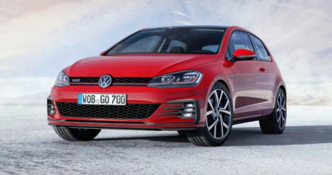 El Volkswagen Golf fue el vehículo más vendido de enero