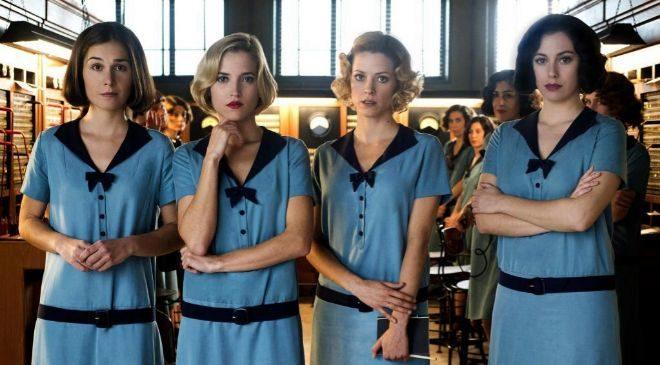 Las chicas del cable es una de las series producida por Netflix en...