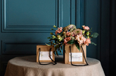 Las bolsas de flores de Sally Hambleton...