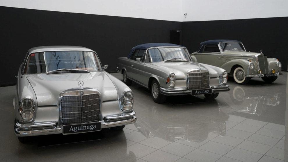 Los 30 coches del Museo Mercedes Benz Aguinaga funcionan y están...