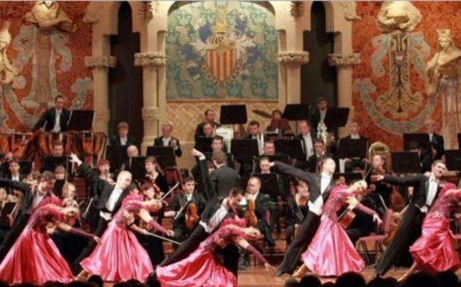 Una representación en el Palau de la Música, en Barcelona.
