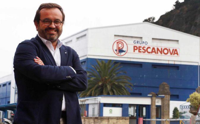 Ignacio González, consejero delegado de Nueva Pescanova en la sede de...