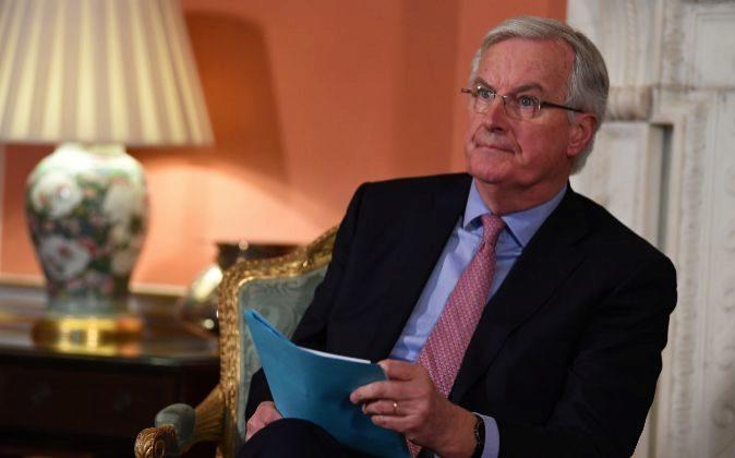 El negociador jefe de la UE, Michael Barnier