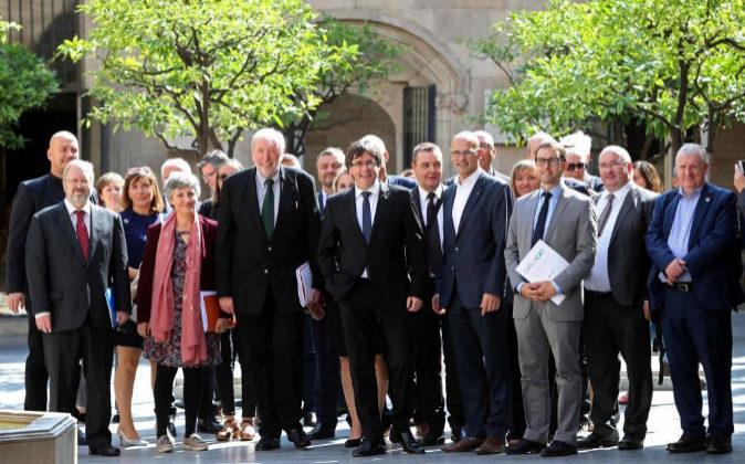 El ya expresidente de la Generalitat, Carles Puigdemont, el pasado 29...