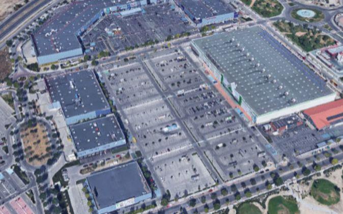 Vista principal del complejo Rivas Futura, en Madrid.