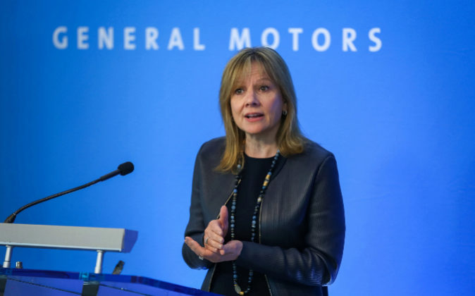 Mary Barra, presidenta y CEO de General Motors.