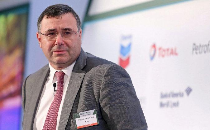 El primer ejecutivo de Total, Patrick Pouyanné.