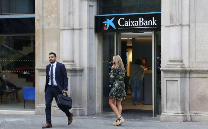 Oficina CaixaBank en Barcelona