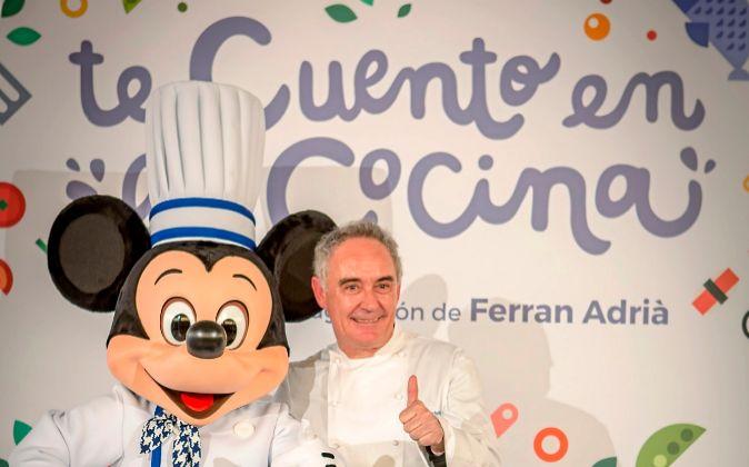 Proyecto 'Te cuento en la cocina', con Ferran Adrià y...