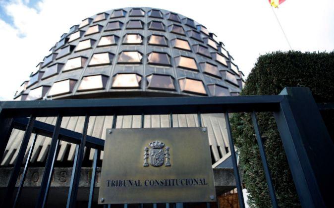 Imagen de la sede del Tribunal Constitucional.
