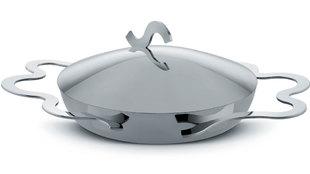 Imagen de la sartén de Alessi para hacer el huevo perfecto Tegamino....