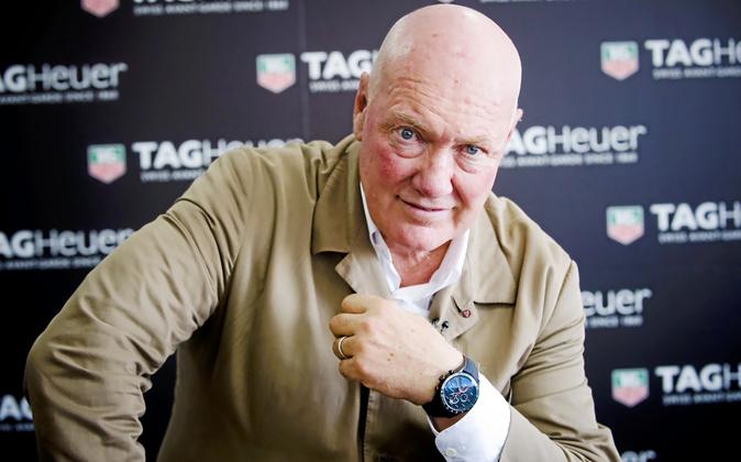 Jean-Claude Biver, consejero delegado de TAG Heuer, y responsable de...