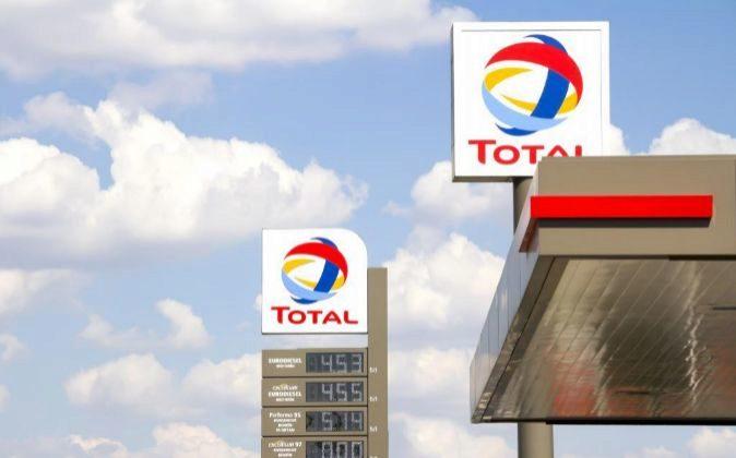 Gasolinera de Total.