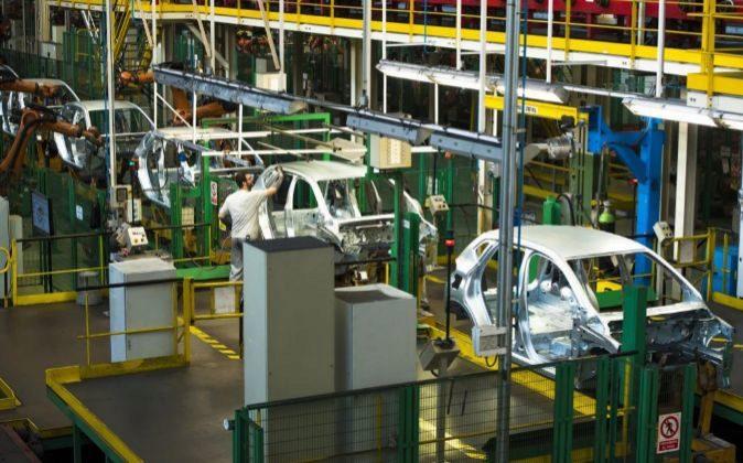 Fabrica de Renault en Valladolid.
