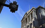 Vista del Banco de Inglaterra en Londres.