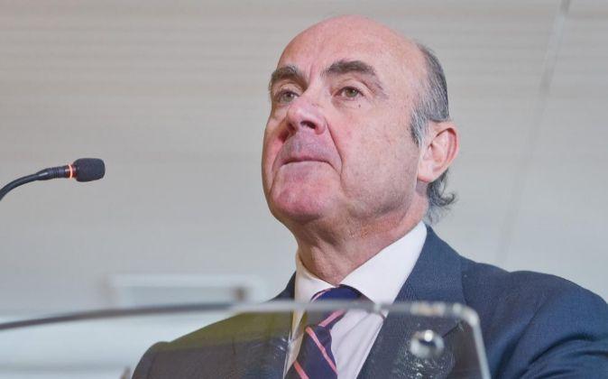 Luis de Guindos, actual ministro de Exonomía.