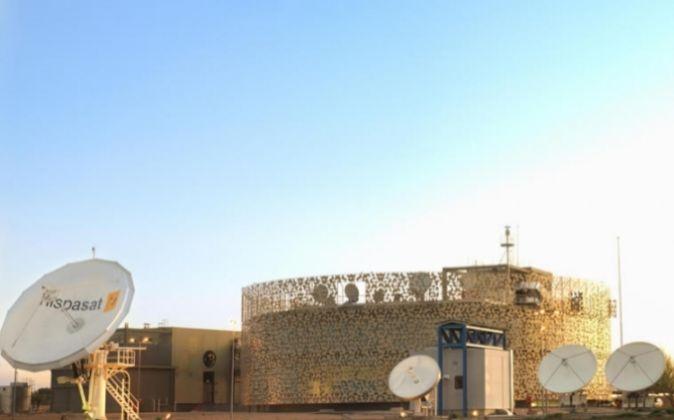 Centro de control de Hispasat.