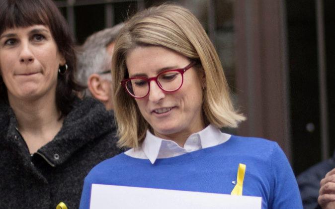 Elsa Artadi, portavoz parlamentaria de JxCat.