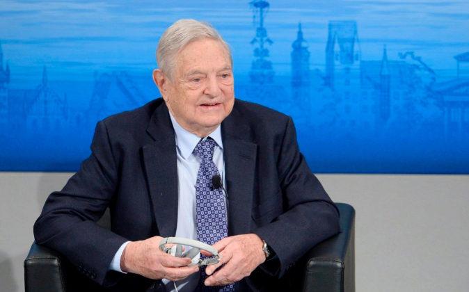 El célebre inversor George Soros.
