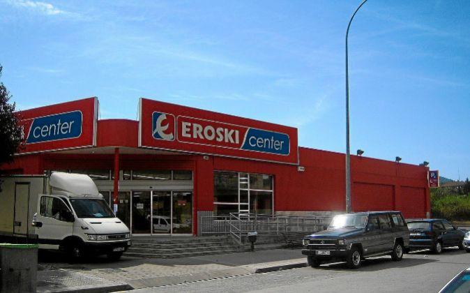 Supermercado Eroski en Amurrio (País Vasco)