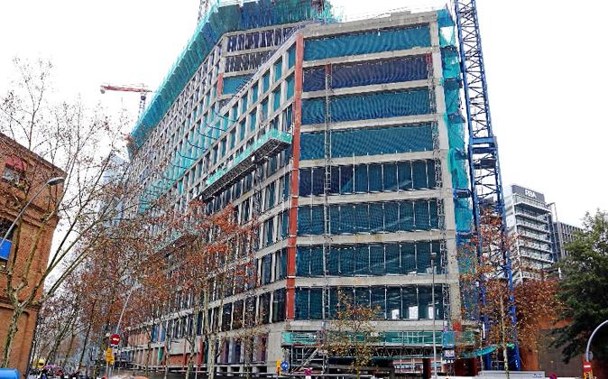 El edificio Parc Glòries, en construcción, ya está prealquilado a...