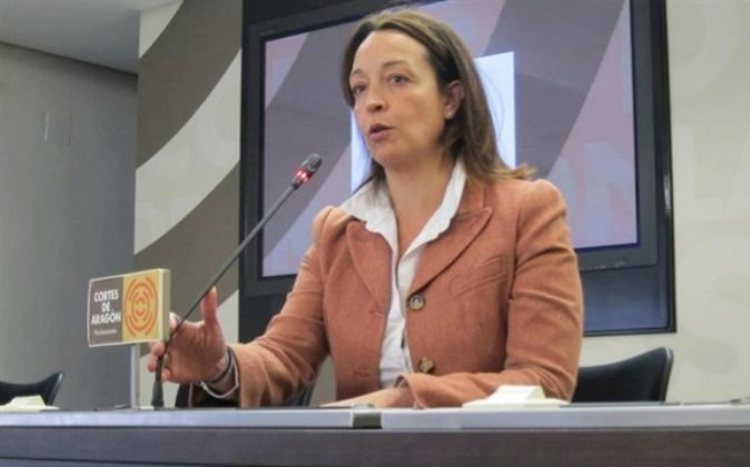 Carmen Susín, diputada del PP en las Cortes de Aragón