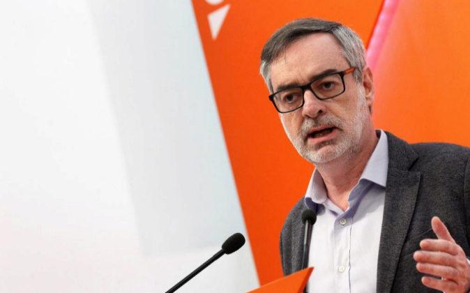 El vicesecretario general de Ciudadanos José Manuel Villegas, en una...